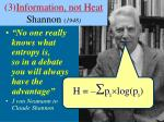 3 information not heat shannon 1948
