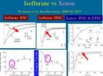 isoflurane vs xenon de sousa et al anesthesiology 2000 92 1055