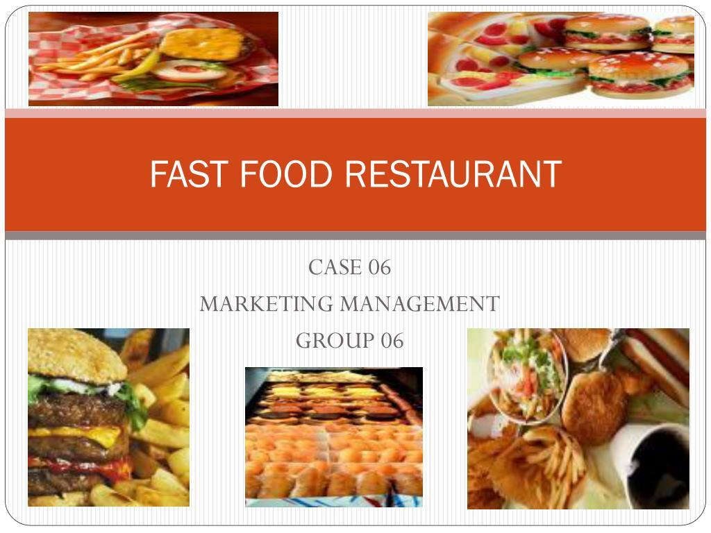fast food restaurant l.