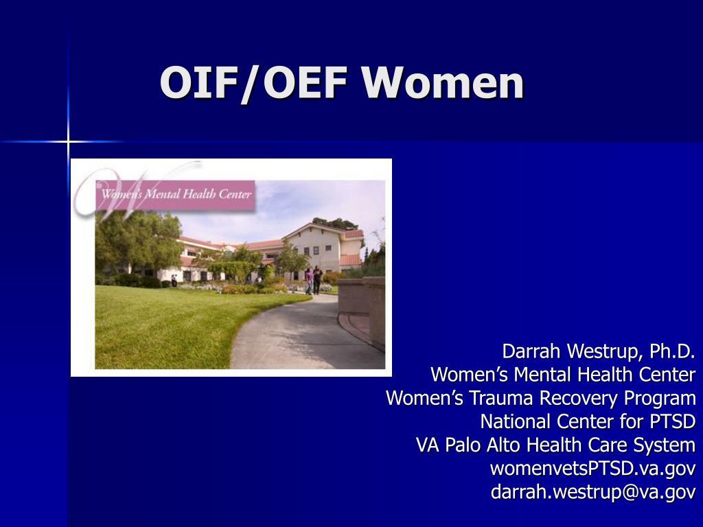 OIF/OEF Women