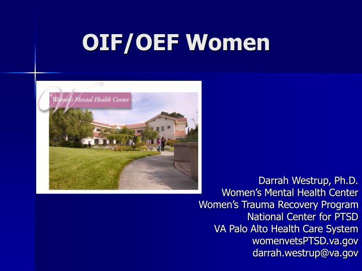 Oif oef women