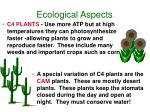 ecological aspects