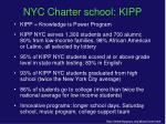nyc charter school kipp