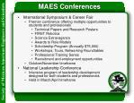 maes conferences