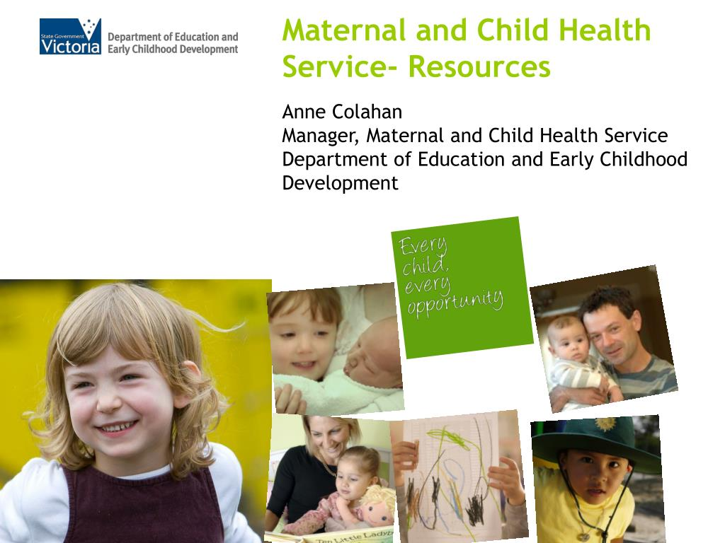 Maternal and Child Health Service- Resources