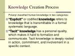 knowledge creation process8