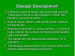 disease development