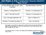 am i eligible to draw unemployment insurance benefits base period6