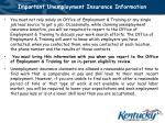 important unemployment insurance information17