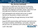 kentucky adult education council on postsecondary education27