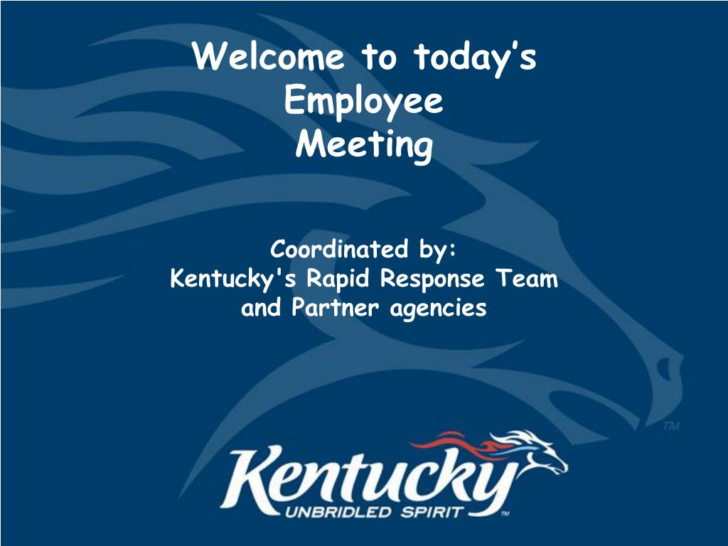 welcome to today s employee meeting