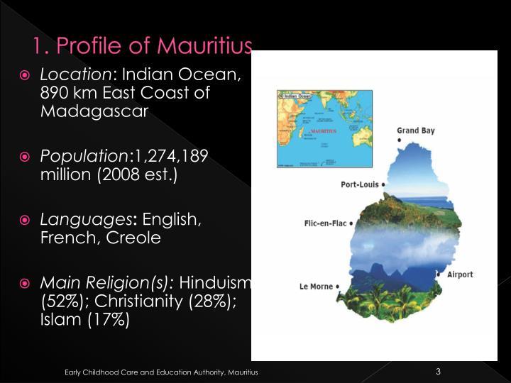 1 profile of mauritius