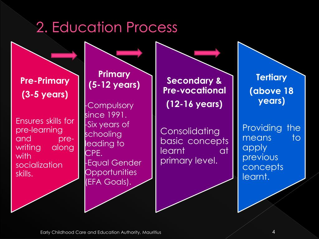 2. Education Process