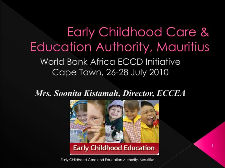 Early childhood care education authority mauritius