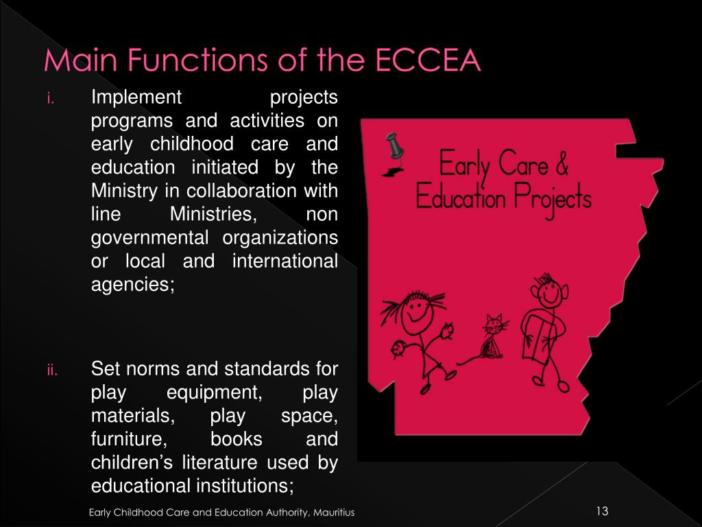 Main Functions of the ECCEA
