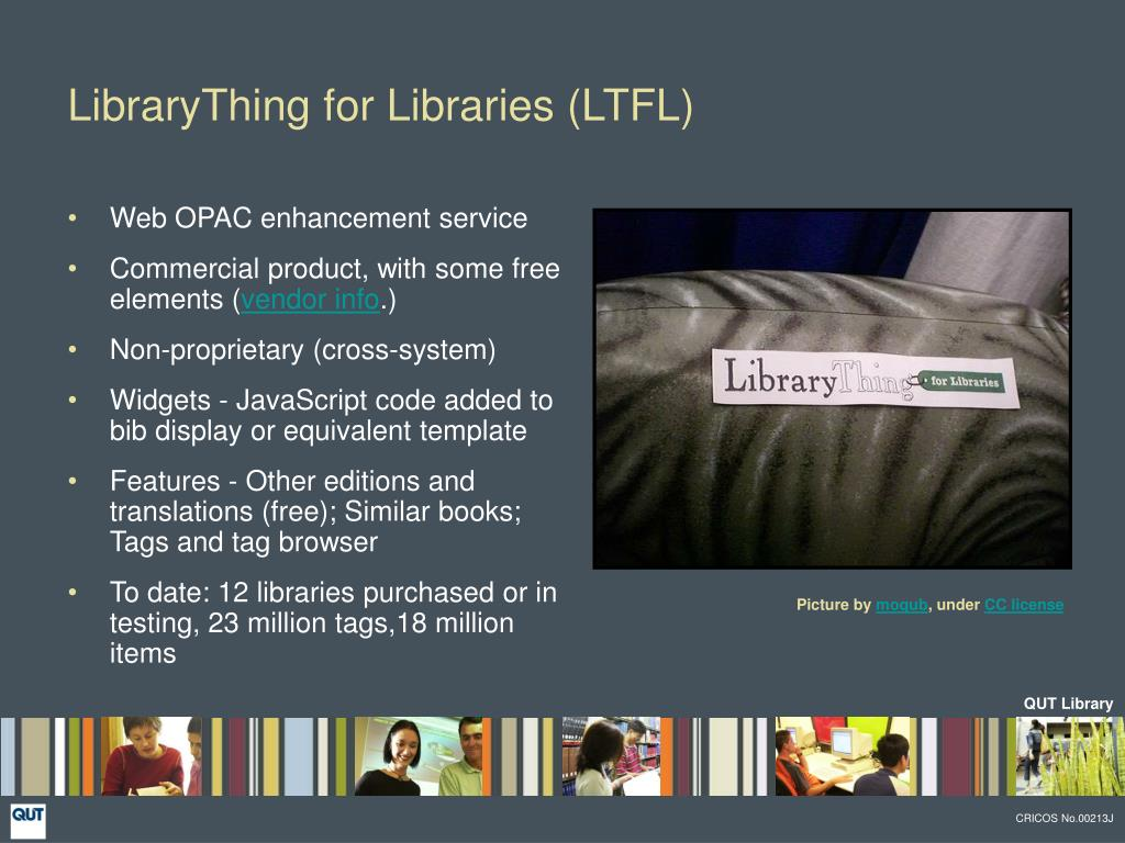 LibraryThing for Libraries (LTFL)