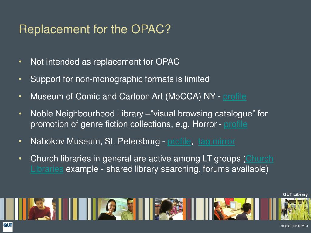 Replacement for the OPAC?