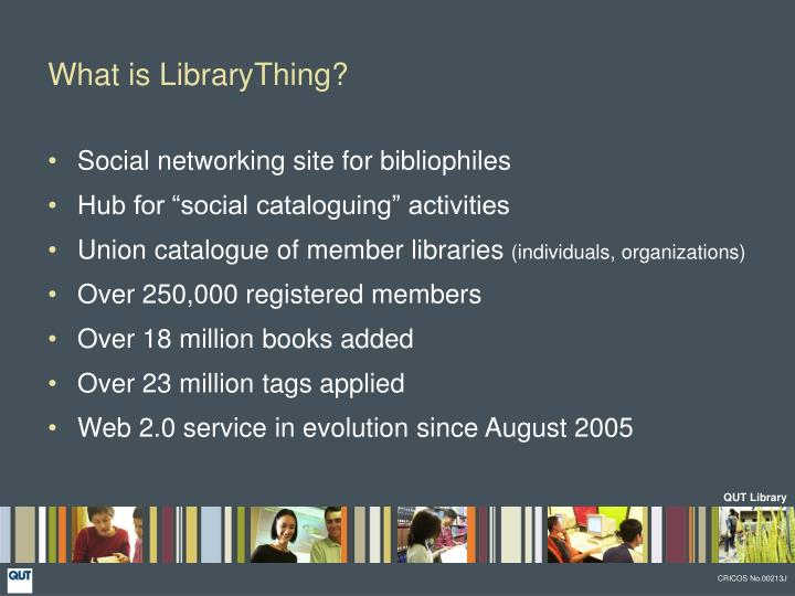 What is librarything