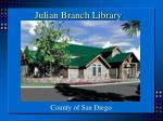 julian branch library
