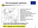 the european partners