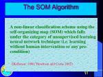 the som algorithm