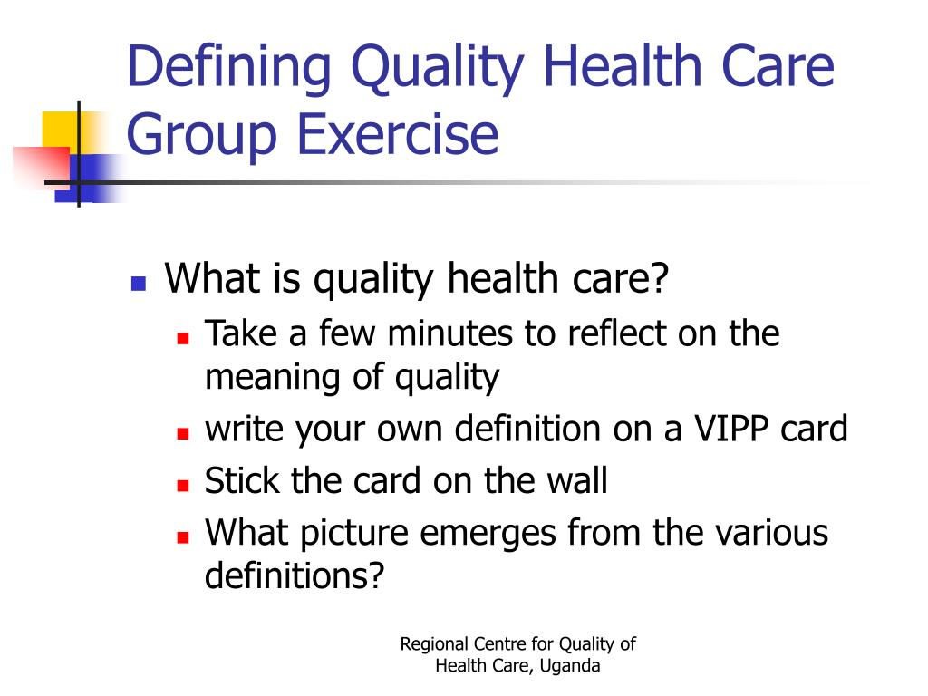 PPT - Quality of Care in Developing Countries PowerPoint