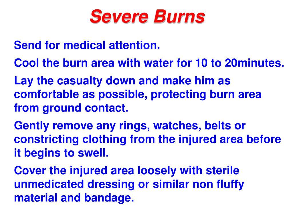 Severe Burns