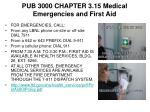 pub 3000 chapter 3 15 medical emergencies and first aid
