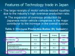features of technology trade in japan4