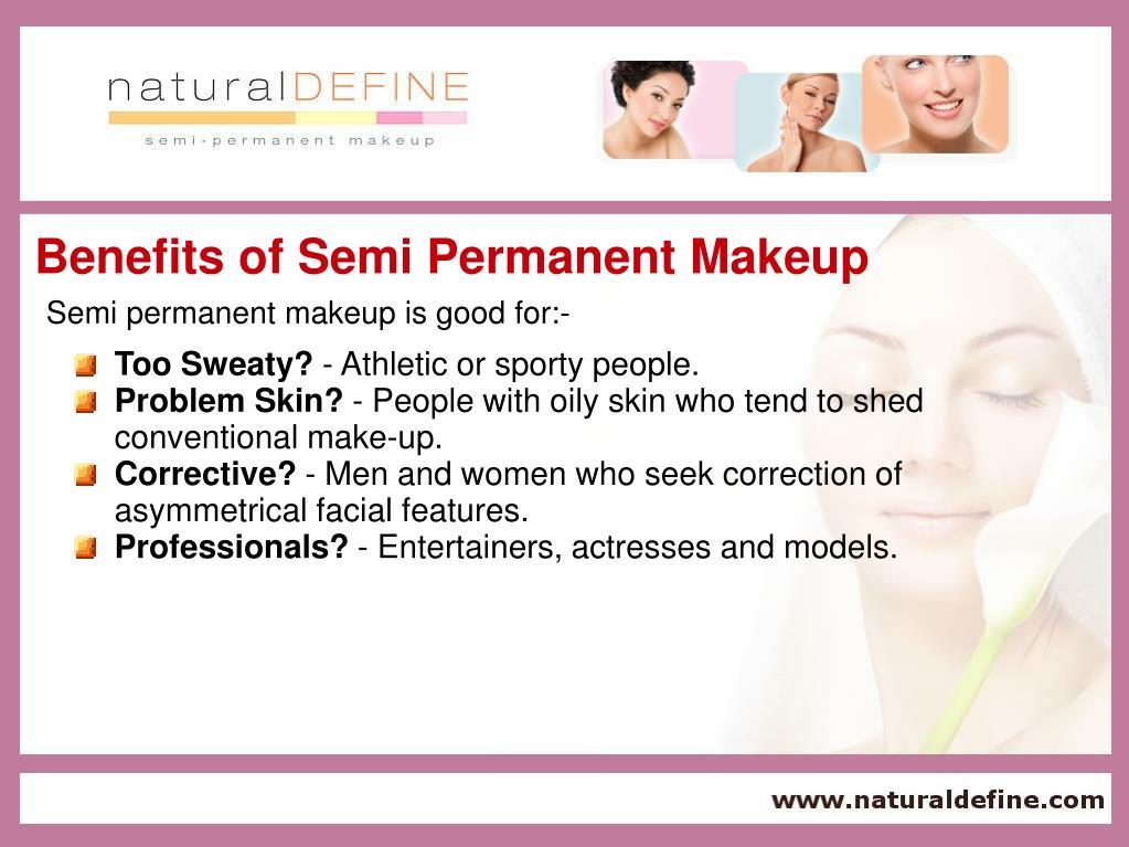 Benefits of Semi Permanent Makeup
