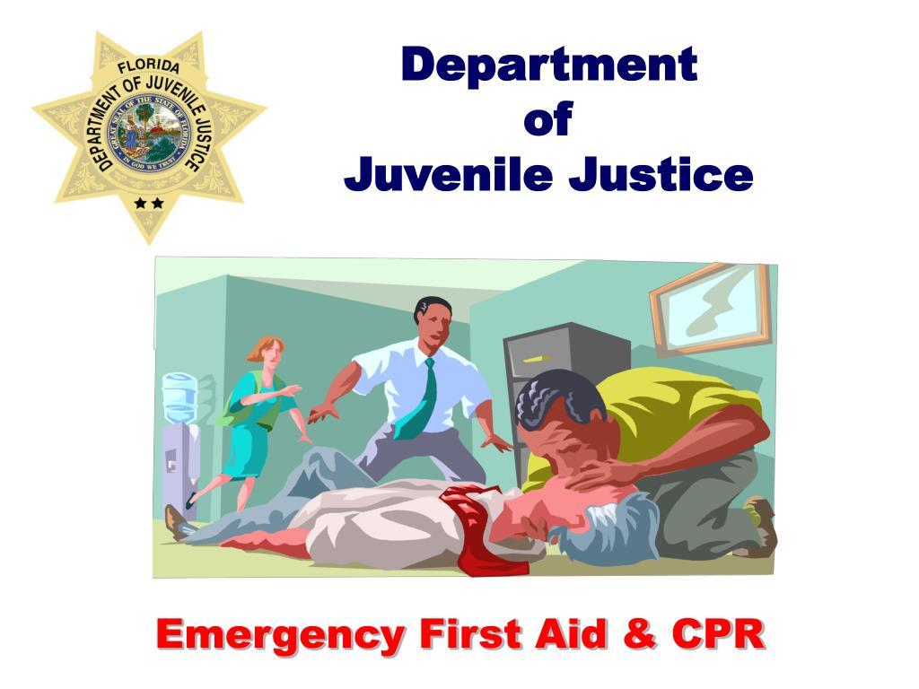 department of juvenile justice l.