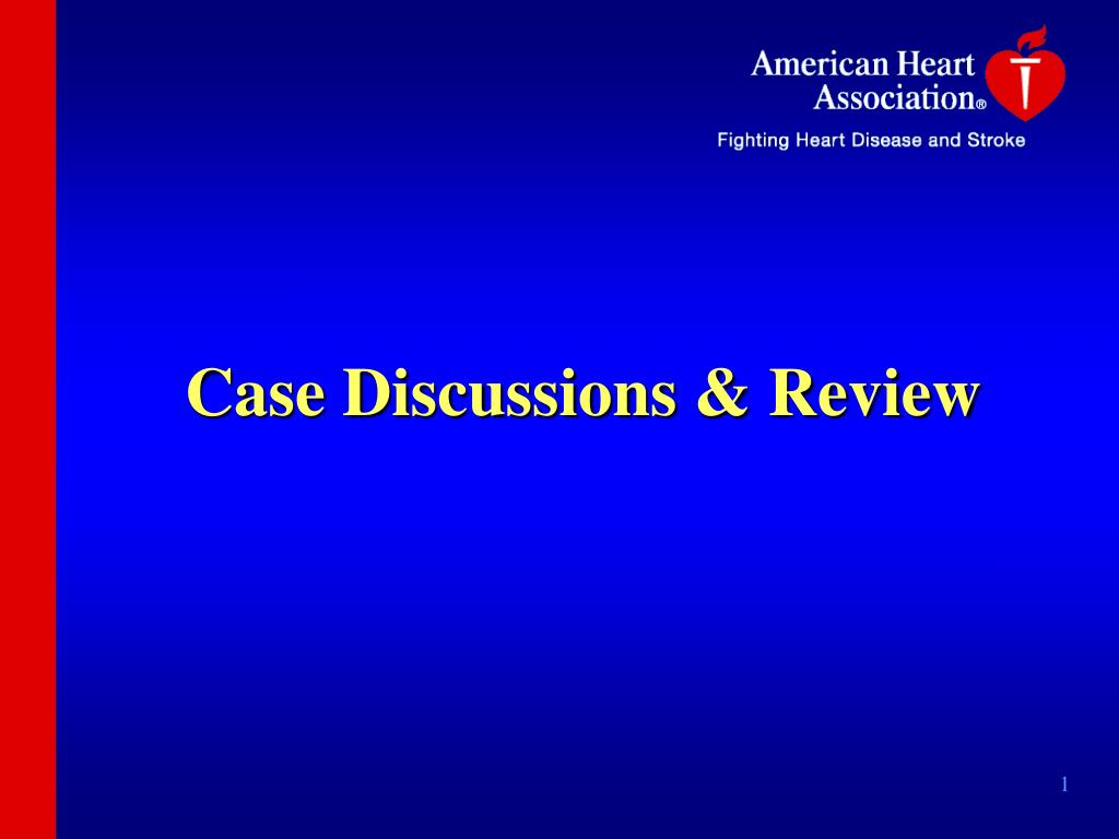 case discussions review l.
