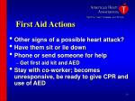 first aid actions10
