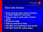first aid actions17