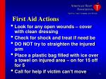 first aid actions26