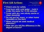 first aid actions28