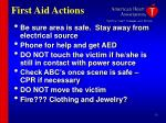 first aid actions30
