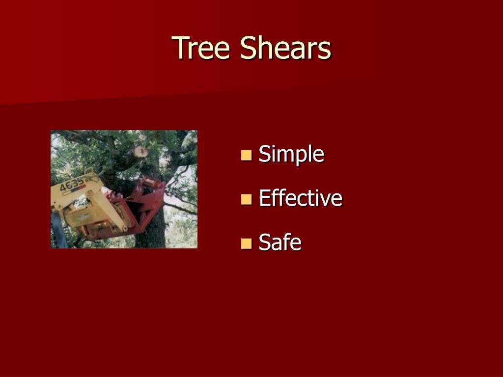 Tree Shears