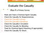 evaluate the casualty