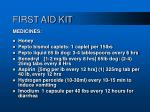 first aid kit79