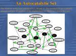 an autocatalytic set
