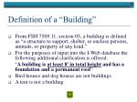 definition of a building