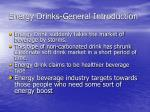 energy drinks general introduction
