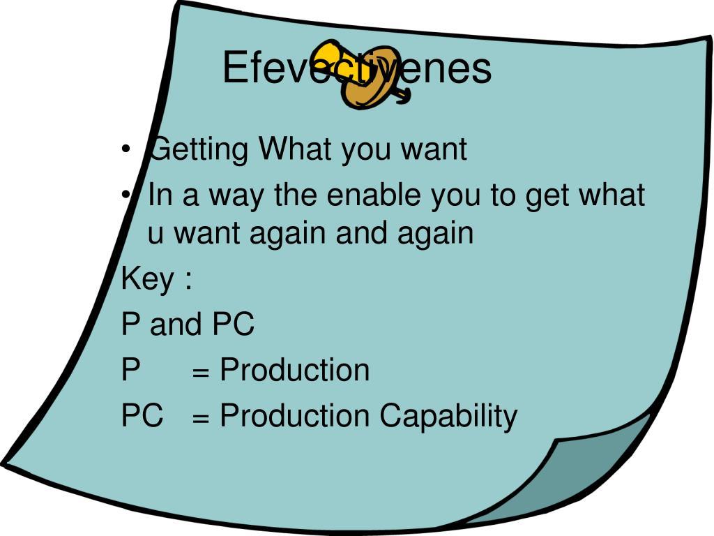 Efevectivenes
