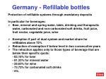 germany refillable bottles