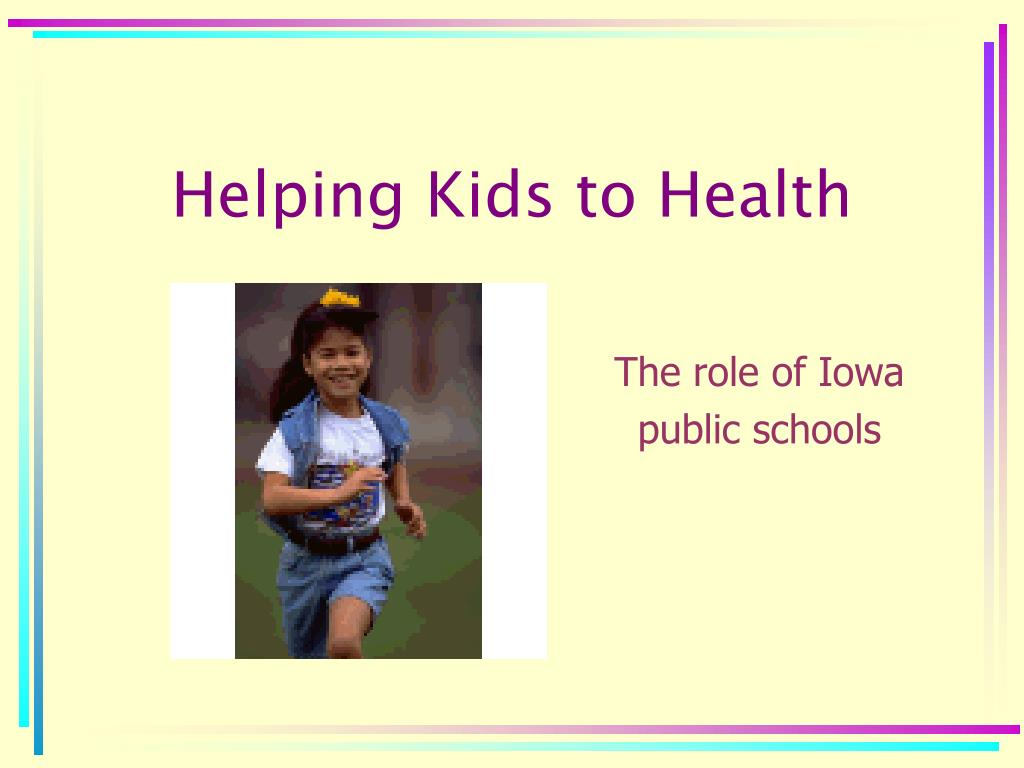 helping kids to health l.