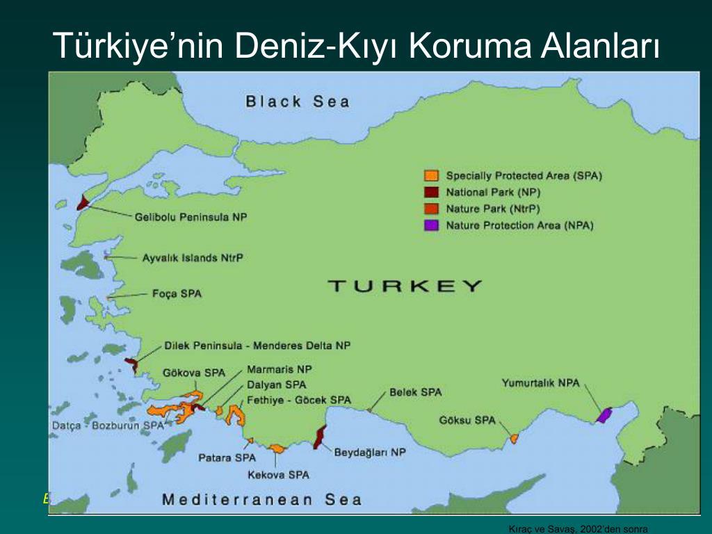 Türkiye'nin Deniz-Kıyı Koruma Alanları