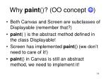 why paint oo concept