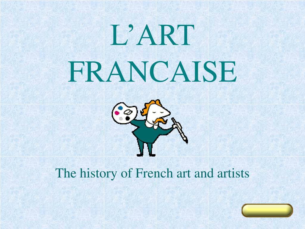 l art francaise l.