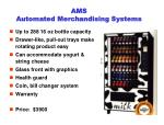 ams automated merchandising systems